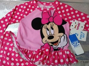 💕Disney junior 2 pc set swimsuit